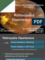 Retinopatía Hipertensiva Vicky Chacón