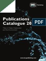 Iwa Publications Catalogue 2013