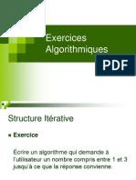 Exercices Algorithmiques Joseph