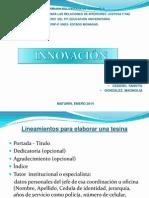 Presentación Lineamientos Para Elaborar La Tesina.