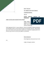 Aclaro Domicilio Procesal Del Demandado-Annie Fiorela Torres Estela 2