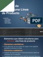 Presentacion Desicion Linea de Produccion