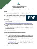 Edital Núcleo Juiz de Fora (Zona Da Mata)