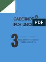 Cadernos Do IFCH Nº 003 Ciência & Tecnologia_Teoria & História