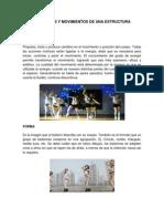 Elementos y Movimientos de Una Estructura de Una Coreografía