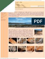 Las Lagunas de Alicura - Museo Virtual de Fósiles Patagónicos