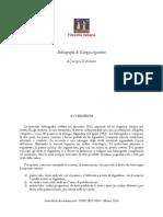 Bibliografia Di Giorgio Agamben