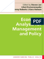 Essentials of Economic evaluation