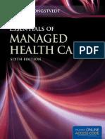 Essentials of Managed Care
