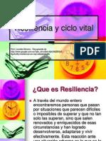 Resiliencia y Ciclo Vital