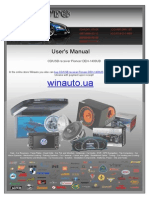 Manual CD USB Receiver Pioneer DEH 1400UB