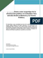 El Clientelismo Como Arquetipo de La Dominación Política en Colombia
