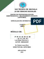 Modulo de Programacion 3