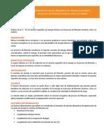 DESAFÍOS MEL02 Búsqueda de Nuevas Alternativas de Eficiencia Energética Proceso de Flotación
