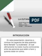 Presentacion Directa La Eutanasia - Camila Arancibia