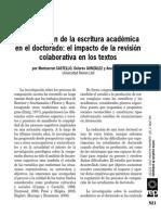 La Regulación de La Escritura Castelló