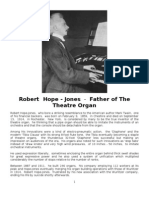 Robert Hope-Jones - Father of the Theatre Organ