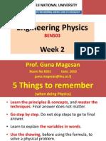 Engineering Physics_2_Measurement & Vectors