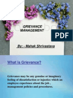 Grievance MGMt
