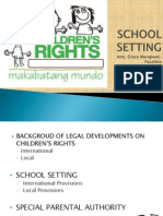 A Sharing on the Rights of Children