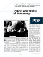 Richard Behar, Forbes Magazine, 1986 Financial Article on L. Ron Hubbard and the Church of Scientology