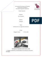 Introduccion a La Ingenieria Mecanica