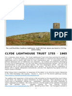 Clyde Lighthouse Trust 1755 - 1965