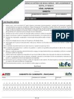 Ibfc 2014 Seplag Mg Gestor de Transportes e Obras Direito Prova