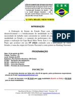 Edital Copa Brasil Meio Norte 2014