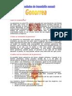 Trabajo de Gonorrea