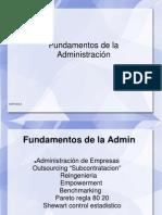 Fundamentos de la Administracin