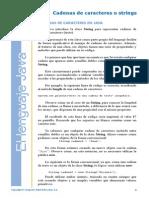 Manual JAVASE Lec10 Cadenas de Caracteres o Strings