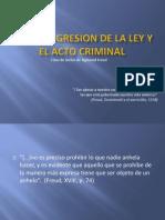 Diseño de Temas-Criminologia, Psicoanalisis y Derecho
