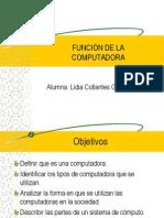 Funciones Básicas de La Computadora