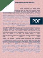 Conceptos e Importancia Del Derecho Mercantil