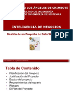 Semana9 Gestion Proyecto DWH