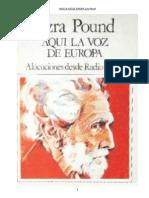 Pound Ezra - Aqui La Voz de Europa