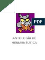 Antología de Hermeneuticao (SIRVE PARA EL TRABAJO)