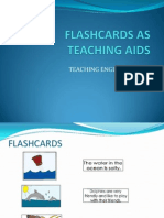 Flashcards as Teaching Aids