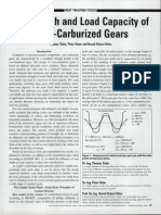 Case Depth & Load Capcity of Case Carburized Gears