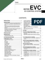 Nissan Leaf 2011-2012 EV Control System