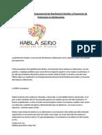 Estrategia Nacional Intersectorial de Planificación Familiar y Prevención de Embarazos en Adolescentes