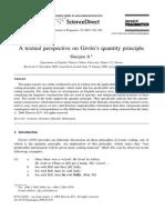 A Textual Perspective on Givón's FICHADO
