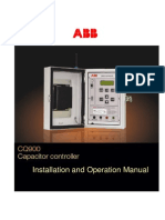 CQ900 Capacitor Controller Manual