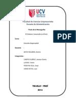 Monografía Derecho Empresarial