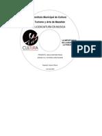 Caratula CD Licenciatura en Musica