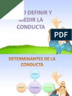 Como Definir La Conducta