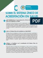 Nueva Acreditacion en Salud 2014