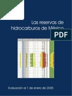 Reservas de Hodrocarburos Mexico