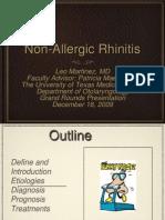 Nonallergic Rhinitis Slides 091216